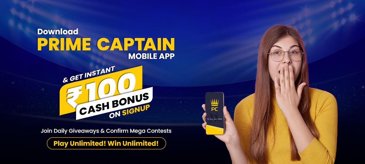 Play fantasy cricket & football win cash daily!